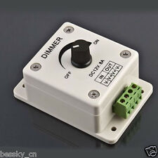 12V 8A PIR Sensor LED Strip Light Switch Dimmer Adjustable Brightness Controller
