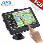 7''Truck Car Navigation GPS Navigator SAT 8GB North/South America Europe Map Lot
