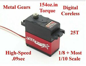 TS-411 MG HIGH-SPEED RC SERVO 1/10 Car Truck Buggy 2wd 4wd 4x4 Nitro Brushless