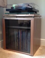 Bespoke American Black Walnut Hifi Turntable Rack Cabinet
