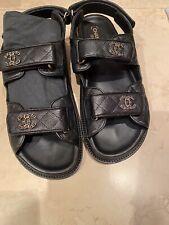 chanel dad sandals 38,5