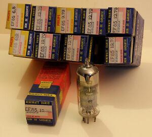 EF85 Vacuum Tube, Valve, Rohren, NOS, Nib. X 10 Pentode