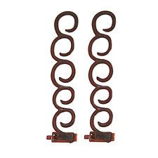 2Pcs/Set DIY Magic Hair Twist Centipede Styling Braid Clip Stick Bun Maker Tool