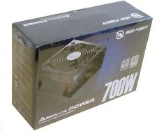 New HIGH POWER® ABSOLUTE 700W Modular 80PLUS Certified Gaming ATX 12V PC Supply