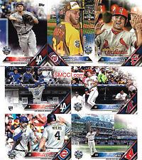 2016 Topps Traded Updates Highlights Baseball Set Seager Diaz Rookie No Factory
