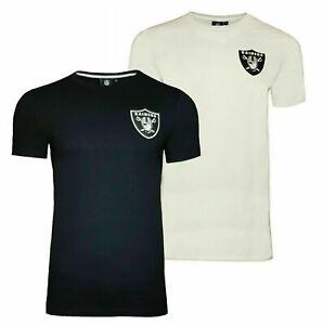 NFL Las Vegas Raiders T Shirt Mens S M L 2XL Muscle Fit Official Team Product