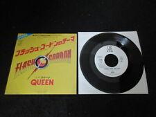 Queen Flash 's Theme Japan Promo 7 inch Vinyl Single Freddie Mercury Gordon
