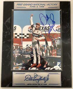 Rare Dale Earnhardt Jr Signed Full Autograph Photo Plaque JSA - FREE PRIORITY SH