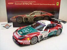 Kyosho 1/18 Ferrari 575 GTC - Team GPC - 2nd Spa 2004 8393a