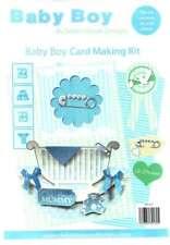 Baby boy bumper cardmaking kit - Debbie Moore Designs - papercrafting, 24 sheets