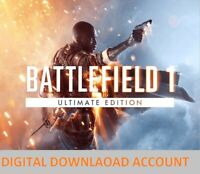 Battlefield 1 Ultimate Edition | DIGITAL DOWNLOAD ACCOUNT | PC | Region free