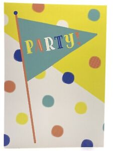 Party Greetings Card Any Occasions Birthday Juvenile Buy Girl