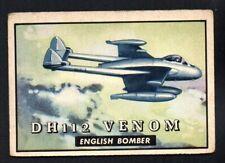 DH112 VENOM 1952 TOPPS WINGS #148   GOOD