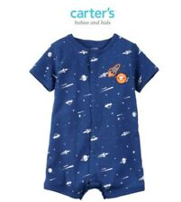 Carter's Snap-Up Cotton Romper -Spaceship