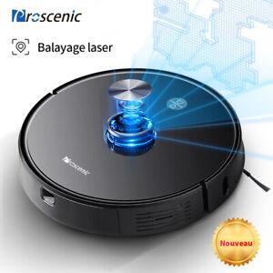 Proscenic M7 Pro Alexa robot aspirateur laveur de sol eau Auto Navigazione laser