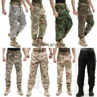 Mens Combat Tactical Cargo Forces Army Military BDU Pants Work Hunting Trousers
