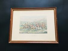 Antique Henry Alken Hunting Qualifications 'Getting Away' Print Plate 2