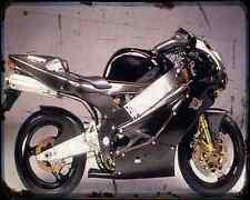 BIMOTA Sb8R Special 4 A4 métal signe Moto Vintage Aged