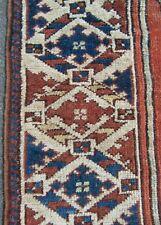ANTIQUE TRANS CAUCASIAN TURKISH-ARMENIAN RUG CIRCA 1940   BEEN HAND WASHED