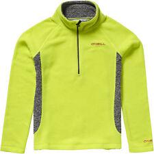 O'Neill Fleece Pullover Jumper Pg Slope Hz Fleece Yellow Breathable