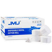 2000pcs Jmu Dental Disposable Cotton Rolls Size 125 X 38 Non Sterile