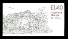 GRAN BRETAGNA - Libretto - 1981 - £. 1,40 - Blocco di dieci del 14 p.