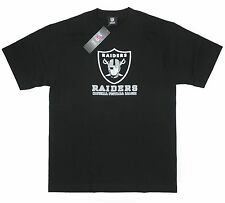 Raiders Medium T-Shirt Oakland NFL Football American Black Simple Emblem