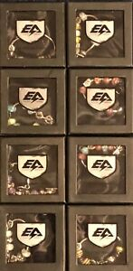 (RV449) Joblot of 8 x Energy Armor Negative Ion Charm Bracelets (Small Only)