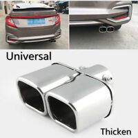 "2.4"" Exhaust Tail Pipe End Trim Tip Muffler Finish Cover 304 Stainless Steel 1X"