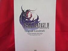 Final Fantasy IV 4 original soundtrack Piano Sheet Music Collection Book