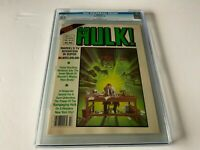 HULK 19 CGC 9.2 WHITE PAGES COOL COVER MARVEL COMICS 1980