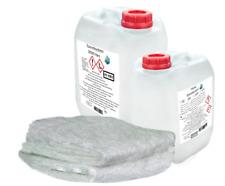 SET-GFK Bootsreparatur:1kg Epoxidharz+2m² Glasmatte 300g/m² GFK FKZ Reparatur