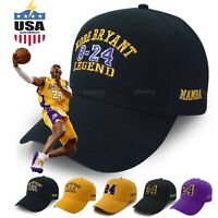 Kobe Bryant baseball Cap Hat mamba 24 Ever Dad Los Angeles Snapback