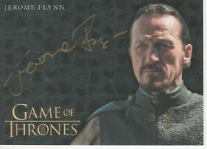 Game of Thrones -  JEROME FLYNN - BRONN -VALYRIAN STEEL GOLD auto card