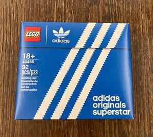 LEGO Promotional Limited Item: Mini Adidas Shoe 40486 (NEW in SEALED Box)