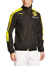 Puma Borussia Dortmund 16/17 Large Stadium Vent Jacket Puma Black/ Cyber Yellow