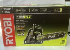 Ryobi Petrol Chainsaw 35cm Bar RCS3835T Auto Lubrication 2-yrs Warnty Brand New