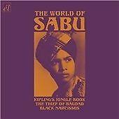 World of Sabu CD 2008 Jungle Book, Thief of Bagdad, Black Narcissus CD2008