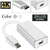 Thunderbolt 3 USB-C to Mini DisplayPort Converter 4K@60HZ Type-C Mini DP Adapter