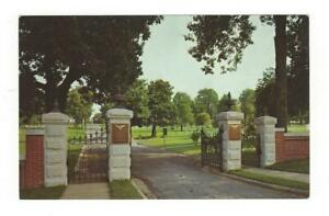 Vintage Postcard  - Civil War - Corinth National Cemetery - Mississippi - MS