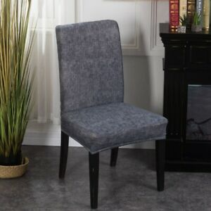 Universal Spandex Chair Cover Dining Seat Protector Elastic Home Decor US