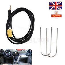 for FIAT Grande PUNTO AUX Input 3.5mm Jack Lead Cable Adapter Radio Keys UK