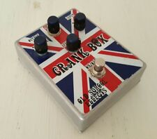 Old School Effects Crank Box Preamp Overdrive Distortion Clean Boost ShipWW