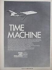 5/1969 PUB PAN AM BUSINESS JETS DASSAULT FAN JET FALCON EXECUTIVE  ORIGINAL AD