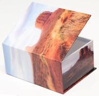 Fotoalbum Fotobox Schachtel Mojave Wüste für 400 Bilder in 10x15 Travel