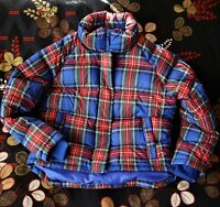 JW Anderson x UNIQLO/Light Down Jacket Very Good Condition/Puffer/plaid/tartan