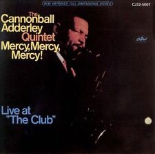 """Cannonball Adderley / Mercy, Mercy, Mercy! Live at """"The Club"""" (LIKE NW CD) GREAT"""