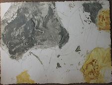 KIM EN JOONG - Superbe gravure au carborundum signée numérotée 1991