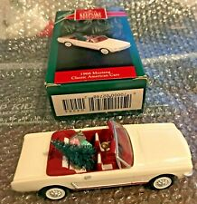 Hallmark Orniment 1966 Mustang # 2 in the Classic American Cars Signed by Artist