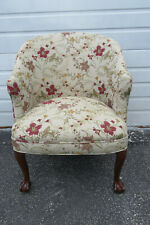 Ball And Claw Feet Living Bed Room Small Lady Side Chair 1340